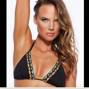 NWT L*Space Night Tribe Sierra Triangle Bikini Top